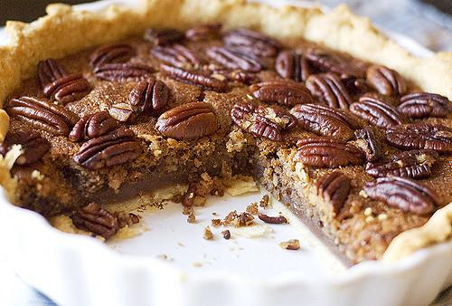 пирог с орехами пекан