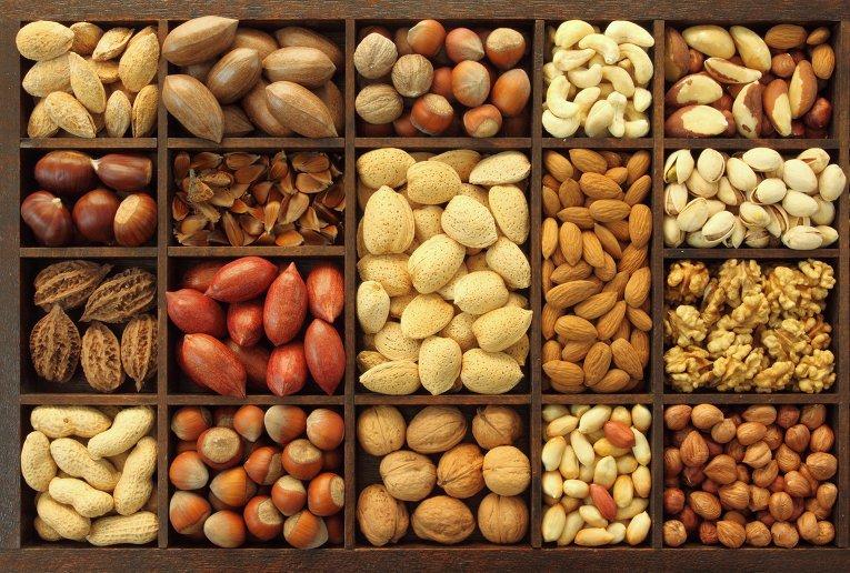 семена и орехи